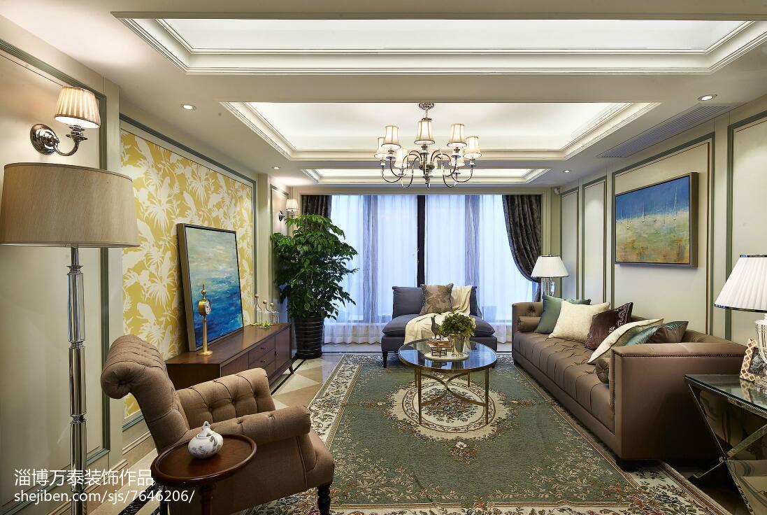 精选复式客厅新古典装修实景图