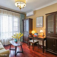 热门面积108平混搭三居书房装修设计效果图片欣赏