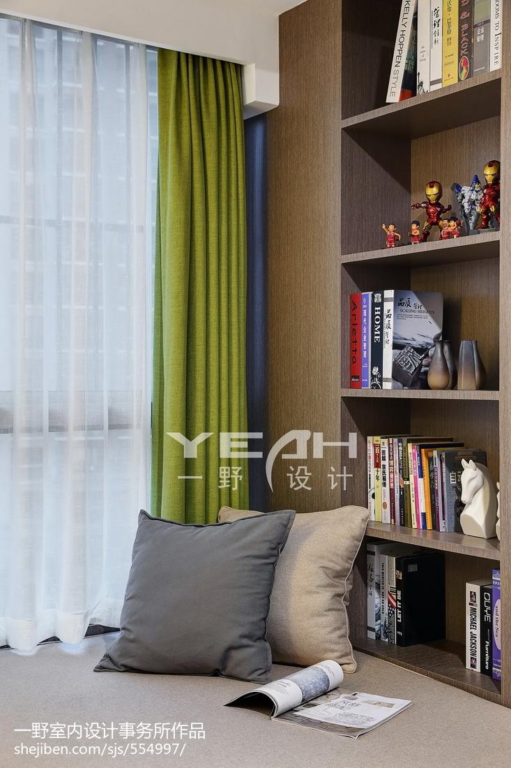 精美简约三居书房装修设计效果图片欣赏