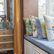 精美133平米美式别墅卧室实景图
