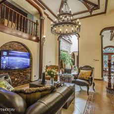 热门115平米美式别墅客厅效果图片欣赏