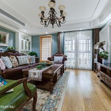 热门143平米四居客厅美式装修欣赏图片大全