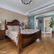 精美面积119平美式四居卧室欣赏图片