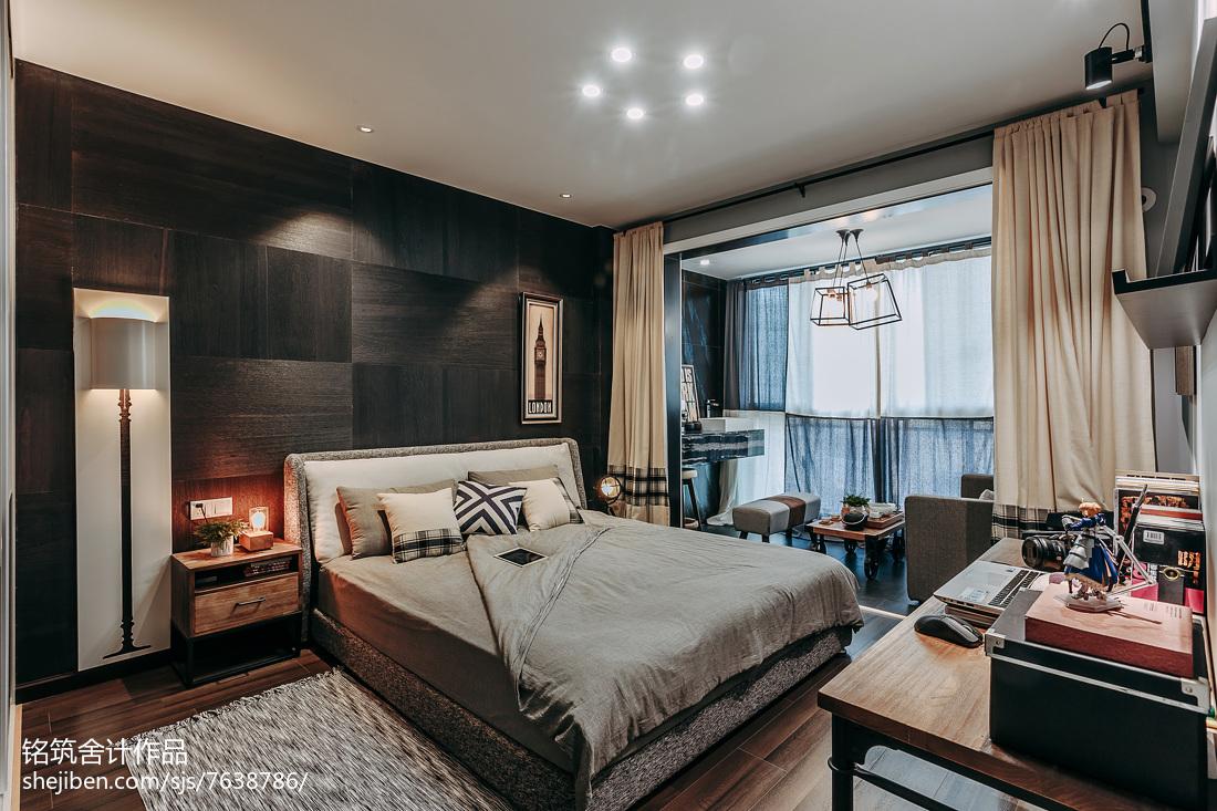 精美96平米三居卧室现代装修效果图片大全
