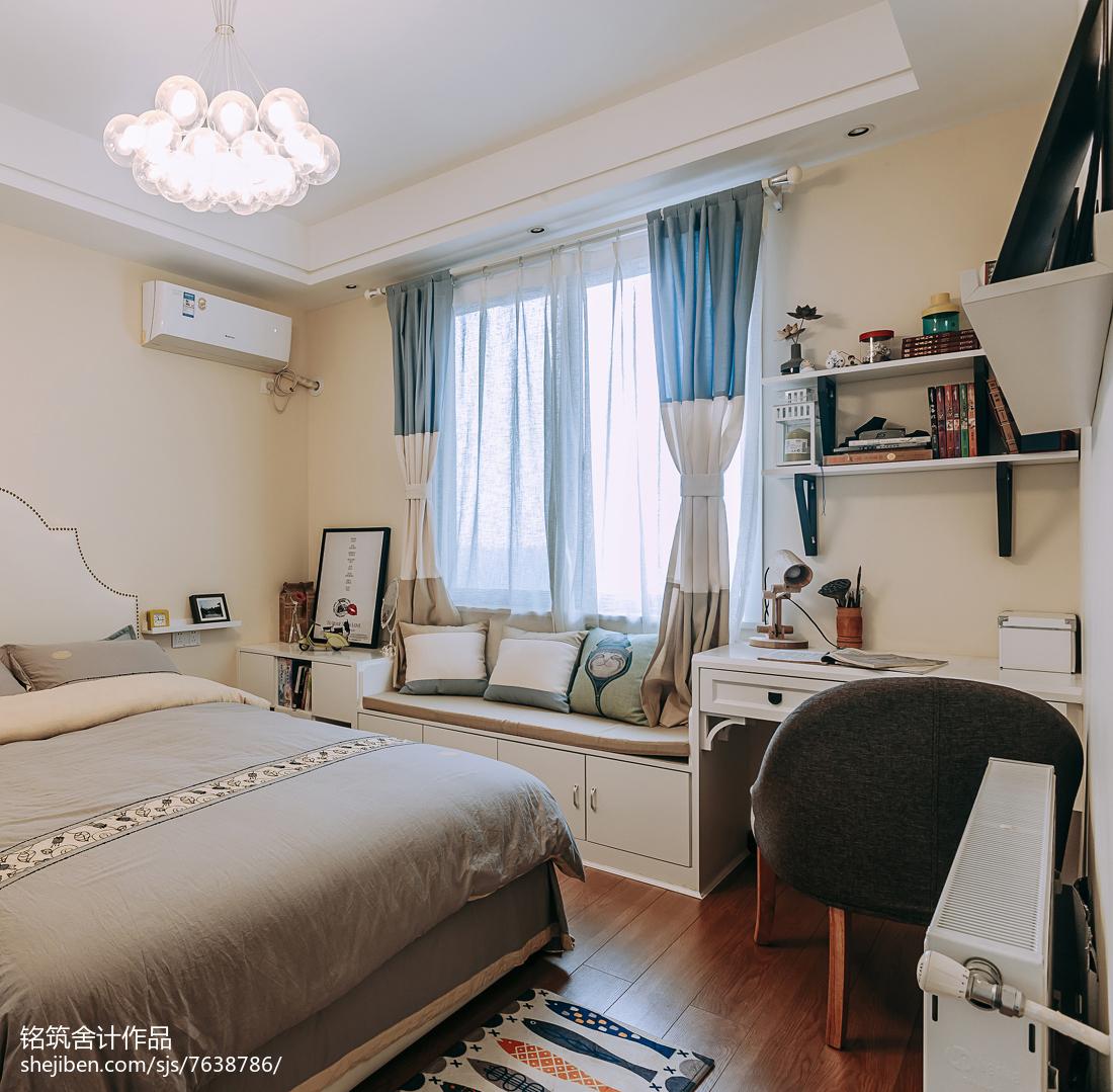 舒适现代风格卧室装修图