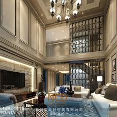 精选大小110平别墅客厅欧式装修图片