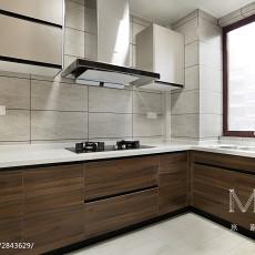 精美大小93平现代三居厨房装修设计效果图片