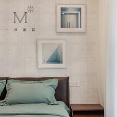 精选106平方三居卧室现代装修实景图片大全