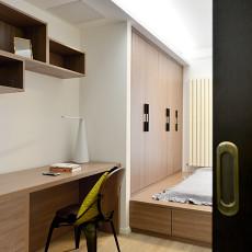 精选面积106平北欧三居书房装修设计效果图片大全