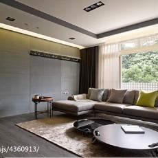 精选90平米三居客厅现代装修实景图片