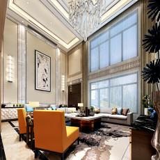 143平米现代别墅客厅欣赏图片大全