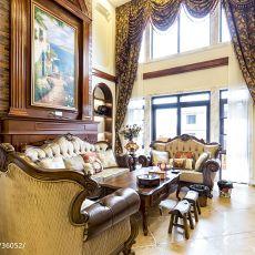 美式别墅客厅装修案例