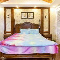 精选139平米美式别墅卧室装饰图片大全