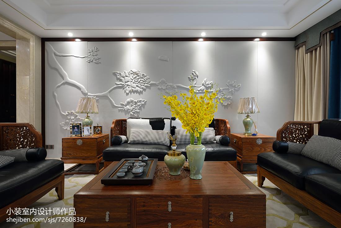 中式四居设计效果图