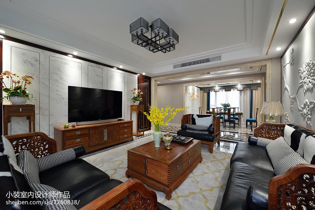 133平米四居中式装修图片欣赏