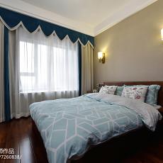139平米四居卧室中式装修实景图片