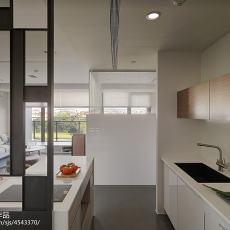 201883平米二居厨房现代装修实景图