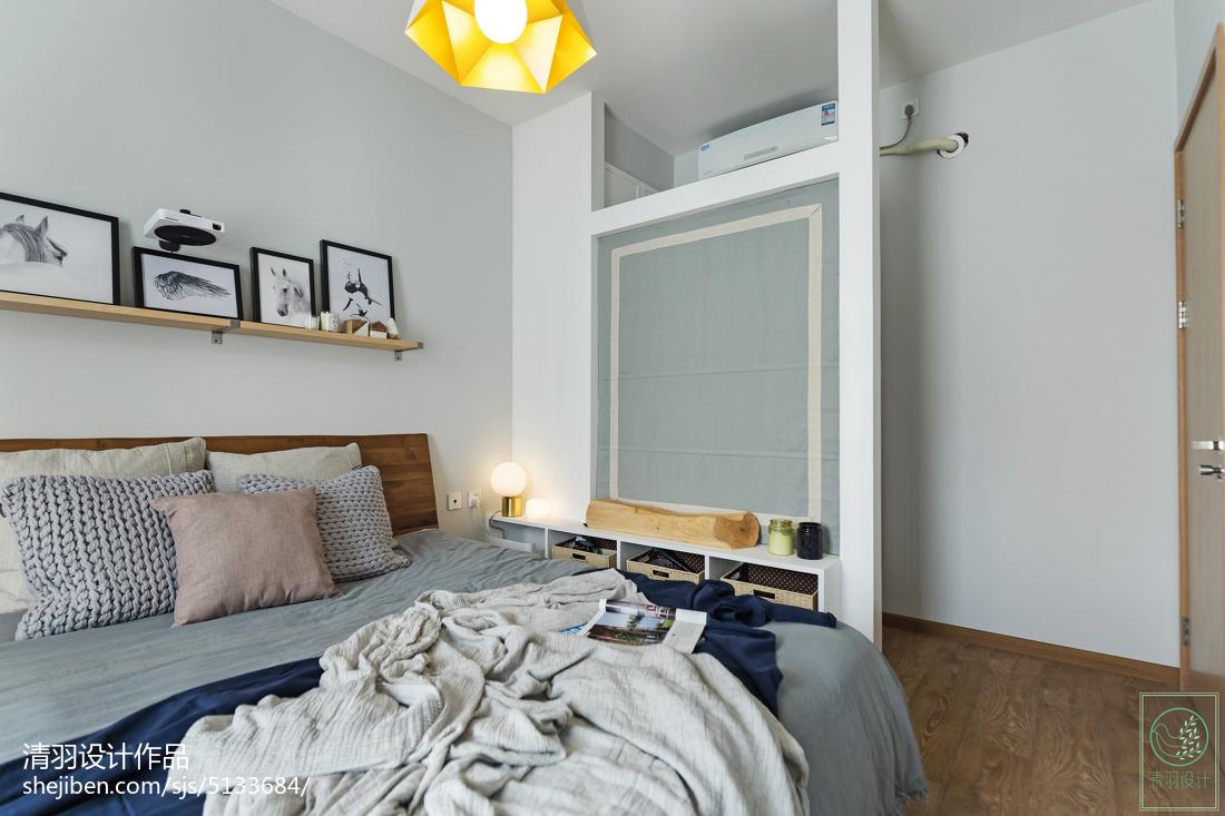 2018精选二居卧室北欧装饰图片大全