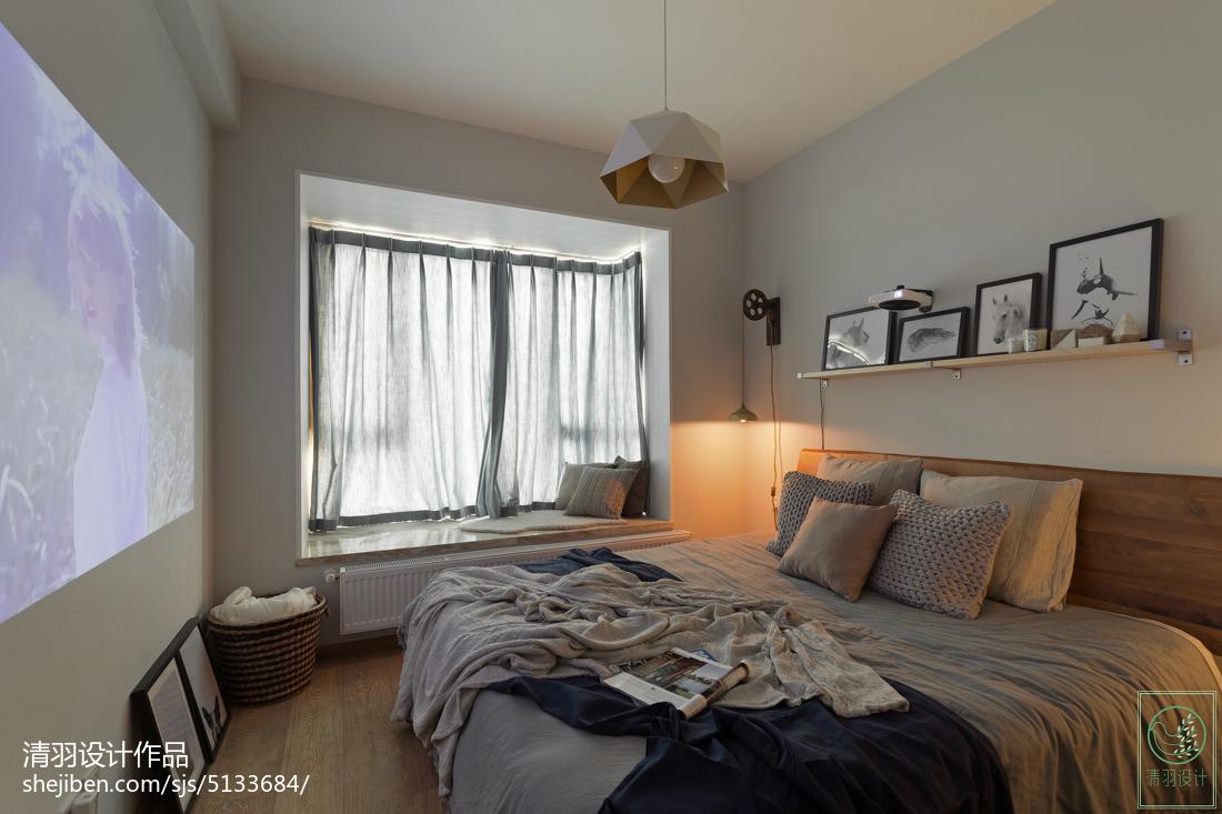 热门北欧二居卧室装饰图片欣赏