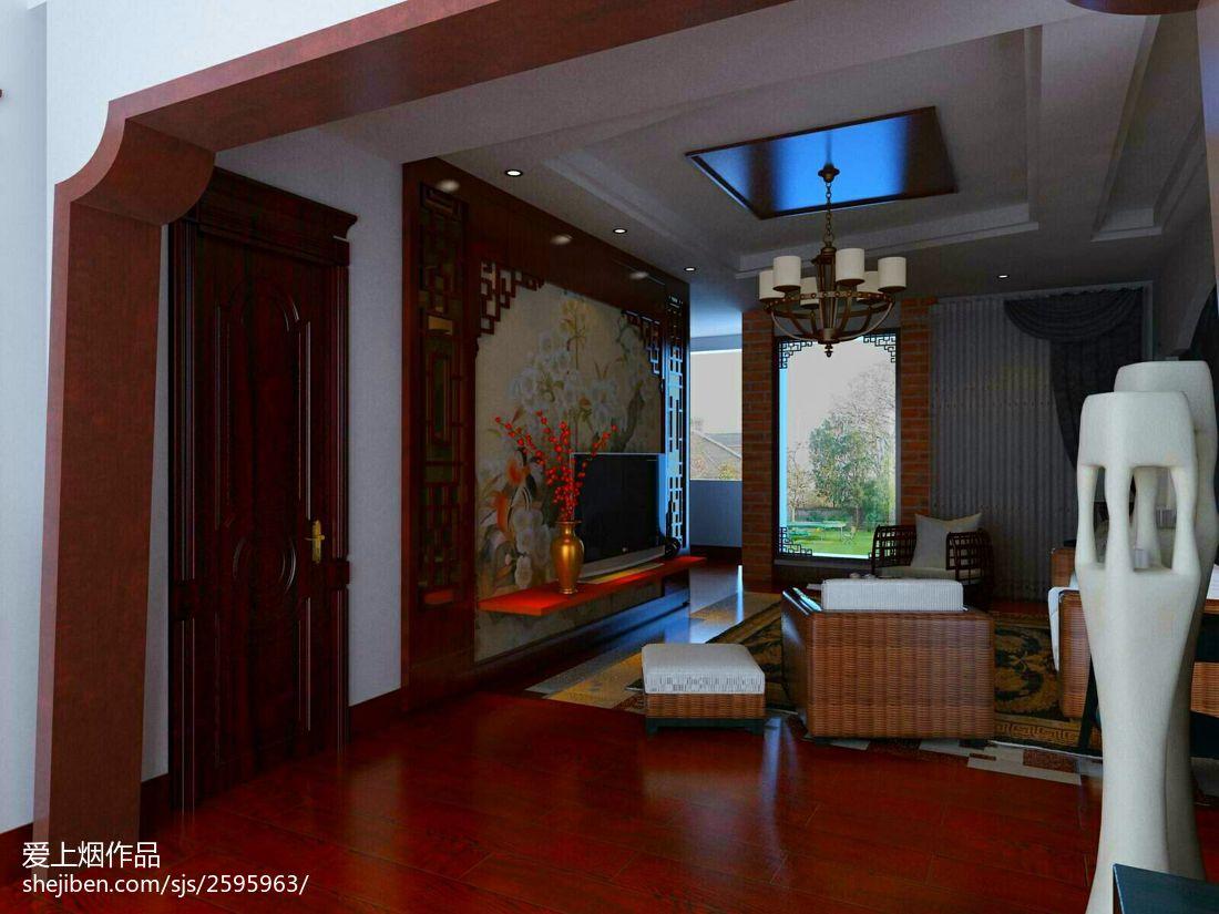 质感家居loft风格客厅装修效果图