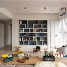 精选面积83平现代二居书房装修实景图片欣赏