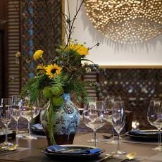 2018餐厅东南亚效果图片欣赏