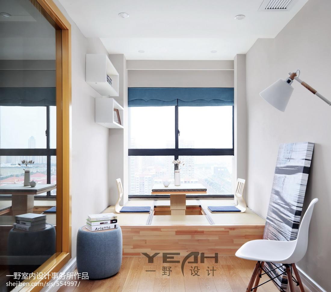 精美面积73平北欧二居书房装修图片欣赏