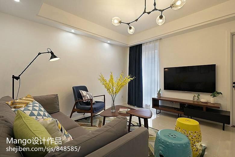 热门宜家客厅装修设计效果图片大全
