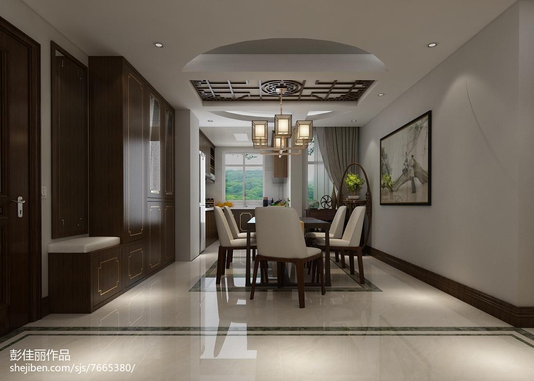 典雅中式家居餐厅设计案例
