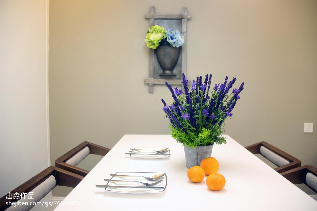 三居餐厅简约装修设计效果图