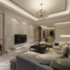 2018精选面积75平现代二居客厅装饰图
