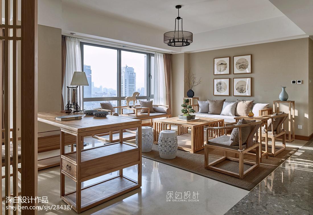 中式休闲客厅设计