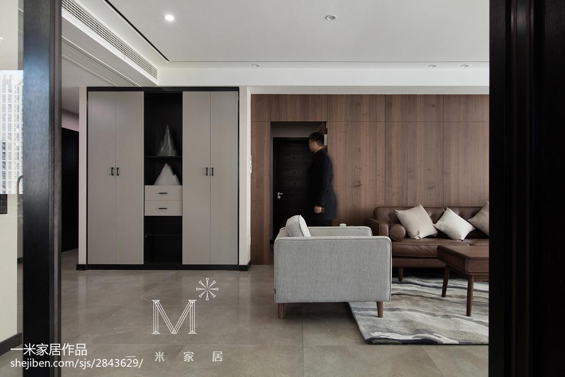 轻奢160平现代三居装饰图片