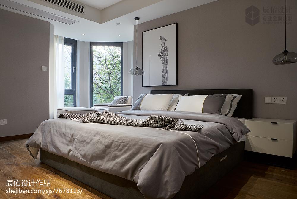 熱門143平米中式復式臥室裝修效果圖片欣賞