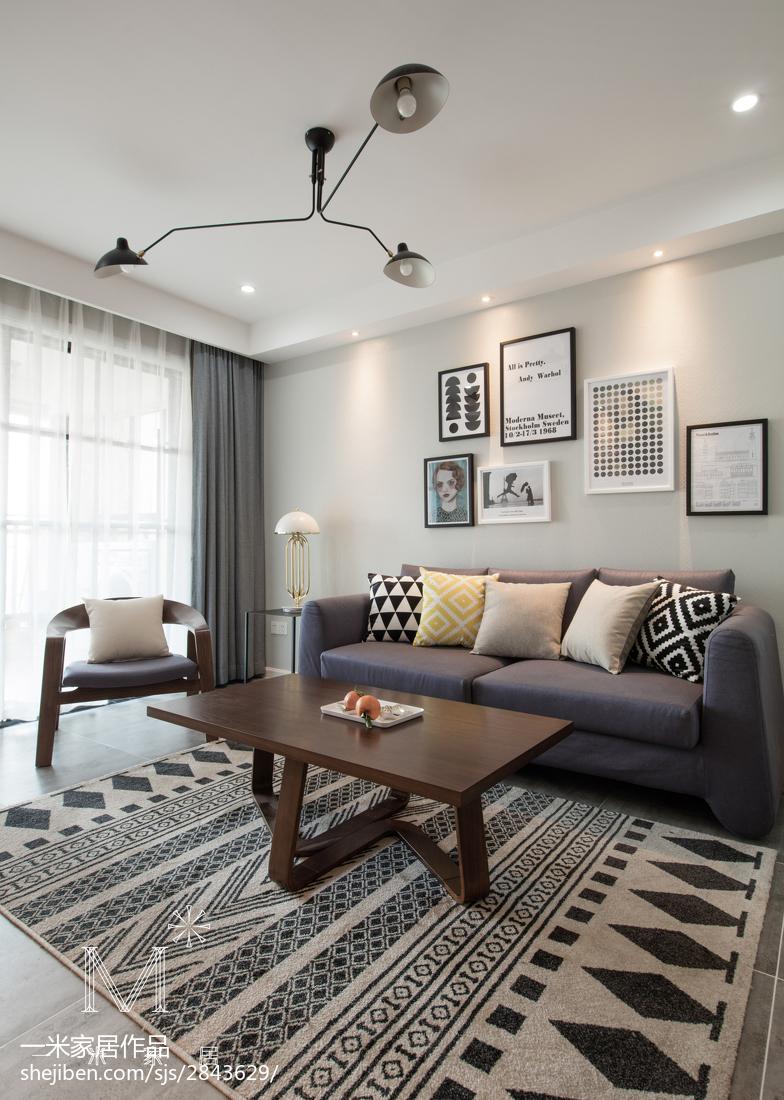 北欧风格客厅装饰画设计