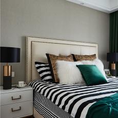 精美148平美式四居卧室装修美图