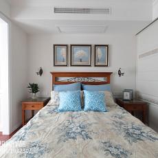 精美三居卧室美式装饰图片大全