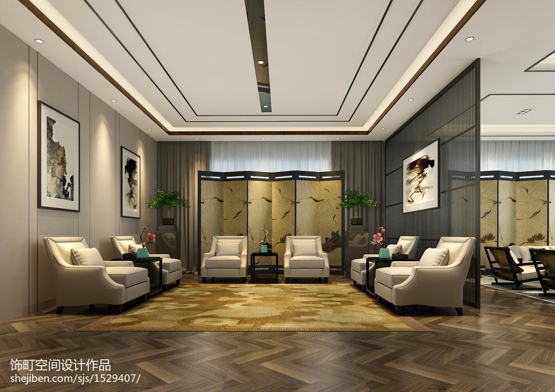 田园现代风格卧室室内家居装饰效果图