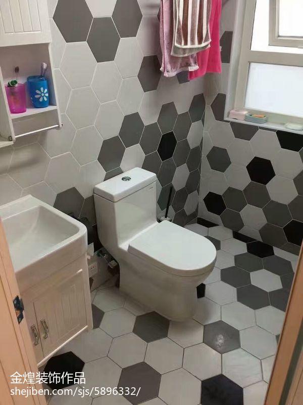 北欧风卫浴装修图设计