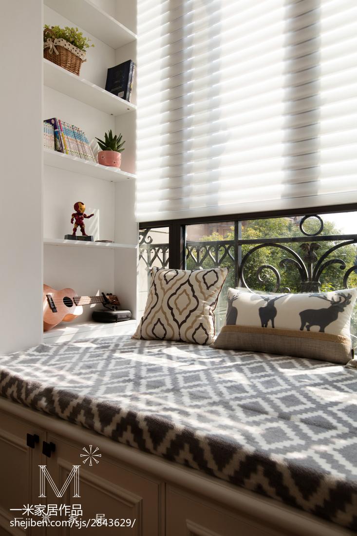 大气91平美式三居卧室效果图欣赏