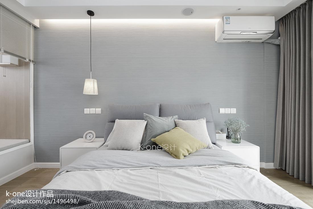201962平简约二居卧室装修案例