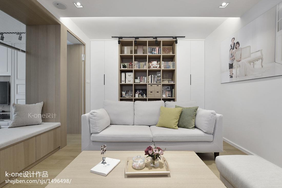 浪漫78平简约二居客厅装饰图片