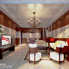 瑞典风格小户型客厅效果图