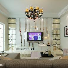 72平米二居客厅现代装修图片