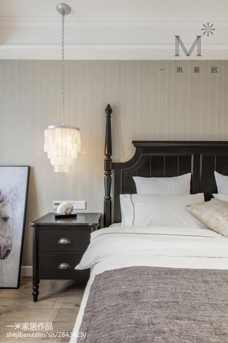 大气102平美式三居卧室装修效果图