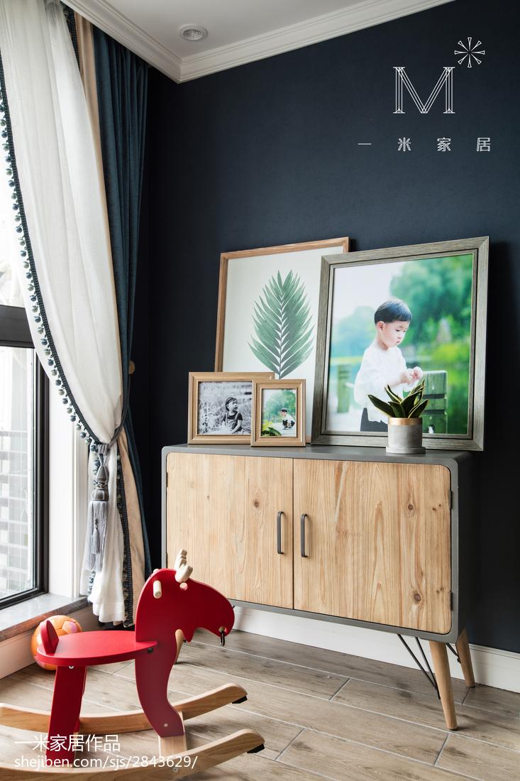温馨73平美式三居儿童房装修效果图