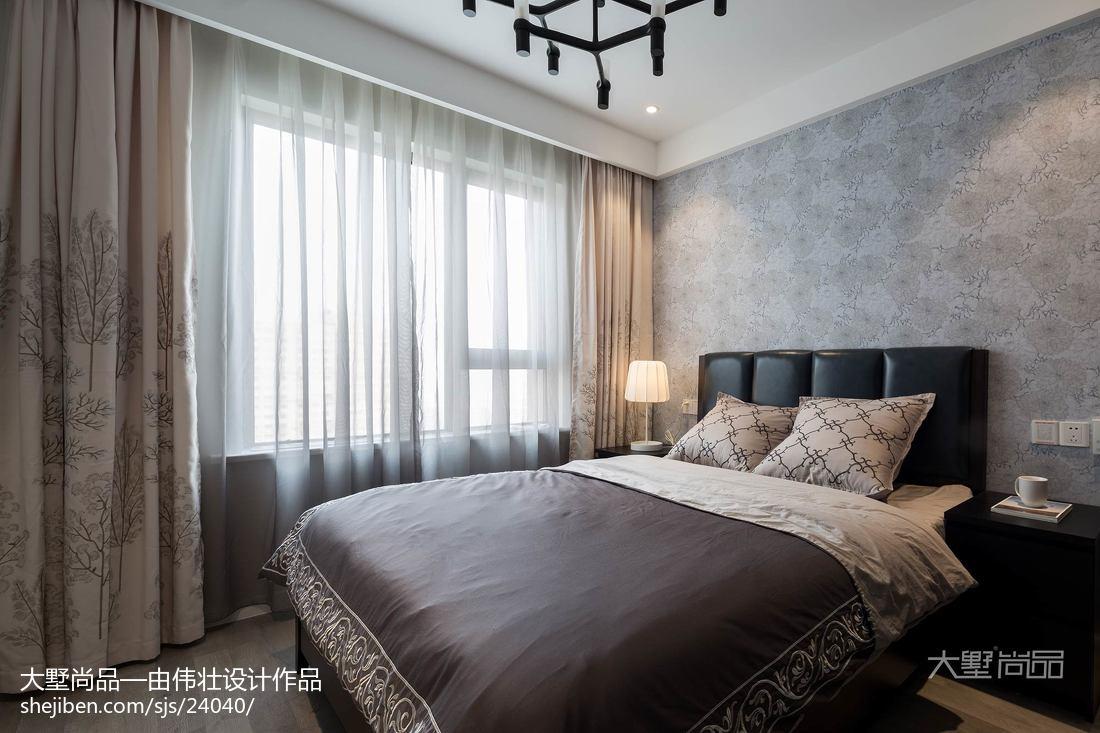 2018大小93平北欧三居卧室装修设计效果图片欣赏