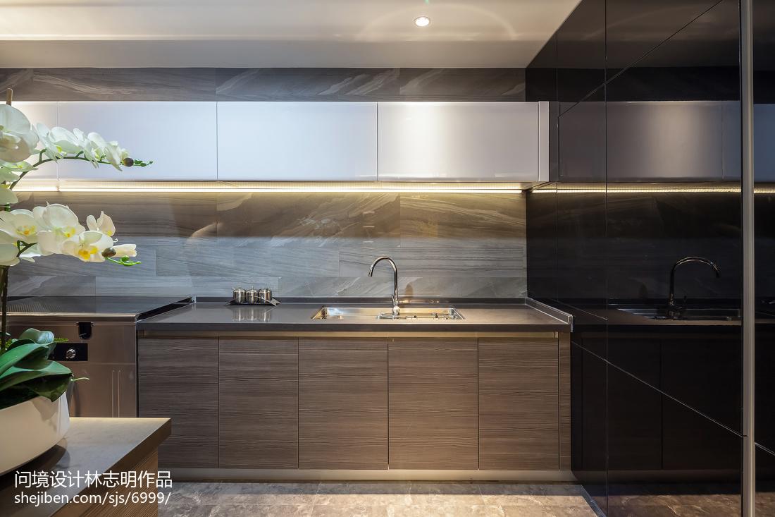 2018中式三居厨房实景图片