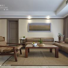 精美面积123平现代四居客厅装修图片