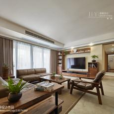 精美面积115平现代四居客厅效果图片欣赏